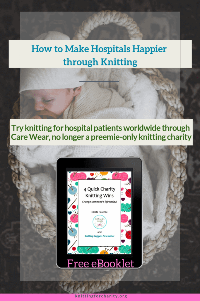 How to Make Hospitals Happier through Knitting