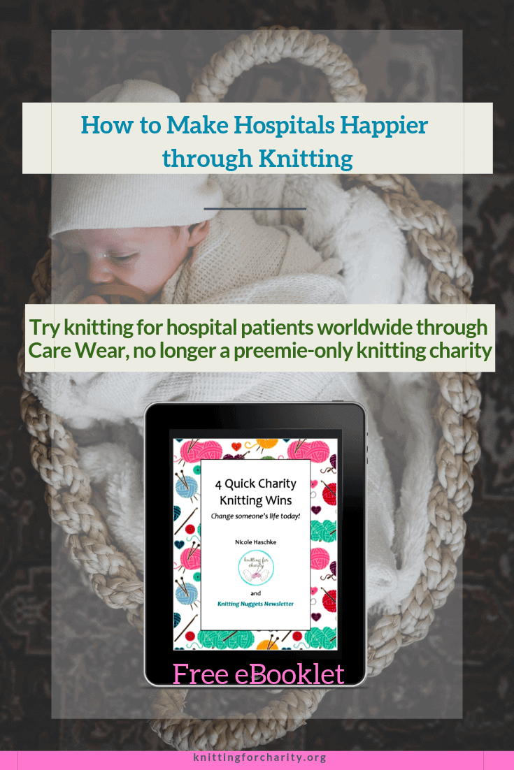 knitting for hospital patients