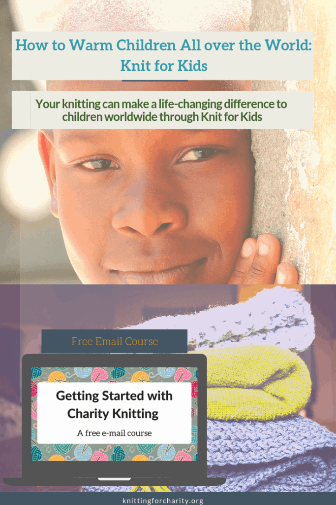 How to Warm Children All over the World: Knit for Kids