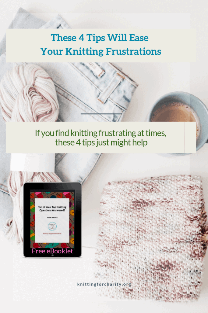 These 4 Tips Will Ease Your Knitting Frustrations