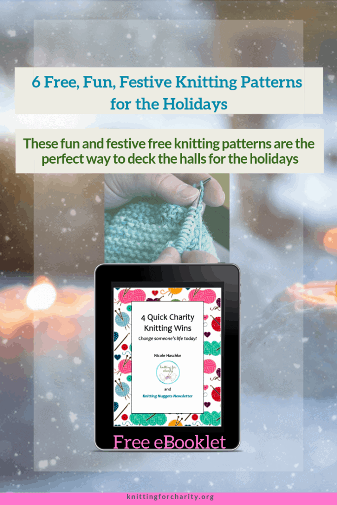 6 Free, Fun, Festive Knitting Patterns for the Holidays