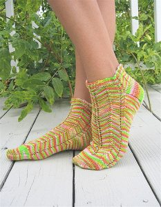 Springtime sock patterns