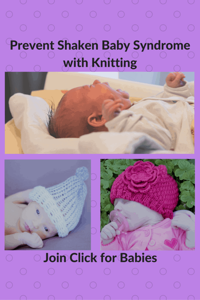 How to Help Prevent Shaken Baby Syndrome with Your Knitting