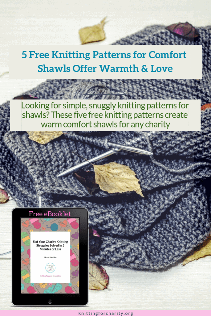 5 Free Knitting Patterns for Comfort Shawls Offer Warmth & Love