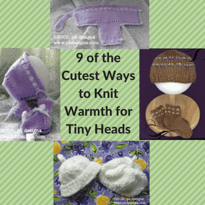 9 of the Cutest Ways to Knit Warmth for Tiny Heads