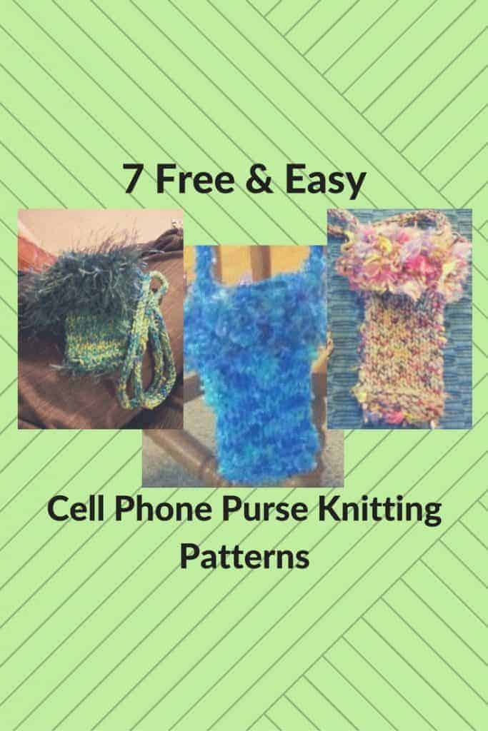 7 Free & Easy Ways to Knit Super-Cute Cell Phone Purses