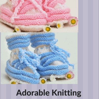 Knit Some Cuteness with These Free Knitting Patterns for Baby Booties