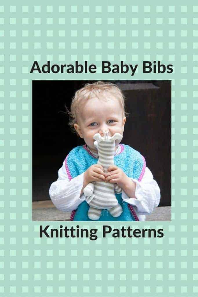 Practical and Cute Free Knitting Patterns for Baby Bibs