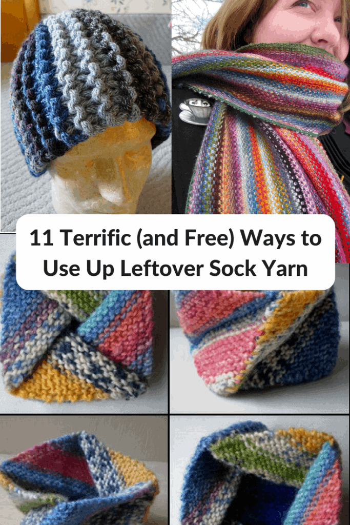 11 Terrific Ways to Use Up Leftover Sock Yarn – for Free