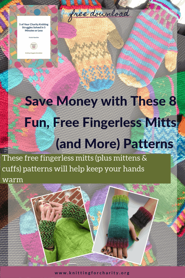 Save Money with These 8 Fun, Free Fingerless Mitts (and More) Patterns