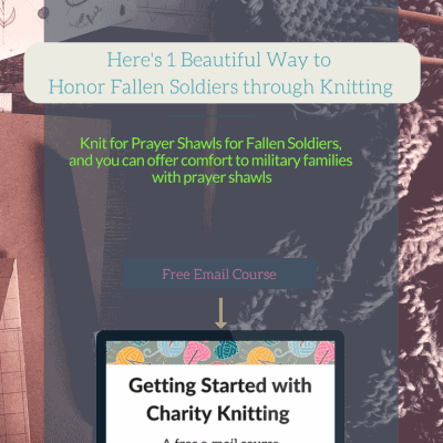 Here's 1 Beautiful Way to Honor Fallen Soldiers through Knitting