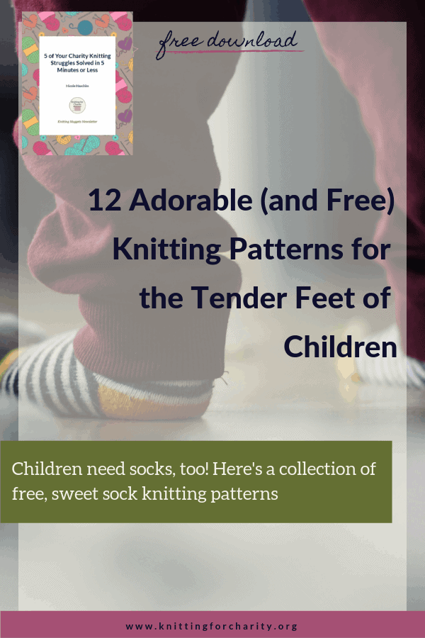 free sock knitting patterns for children