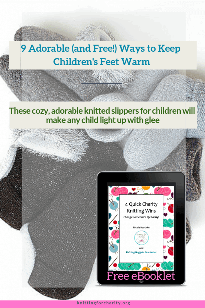 9 Adorable (and Free!) Ways to Keep Children's Feet Warm