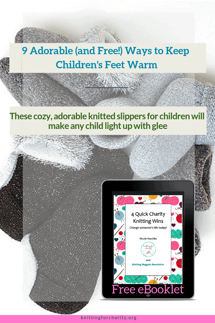 free knitted slipper patterns for children