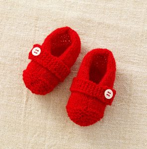 knitted slipper patterns for children