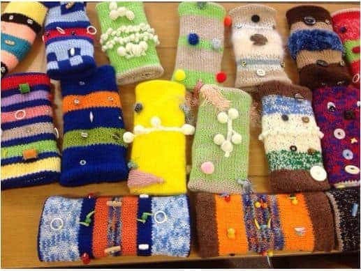 Knit Twiddle Muffs and Help Seniors with Dementia or Alzheimer's
