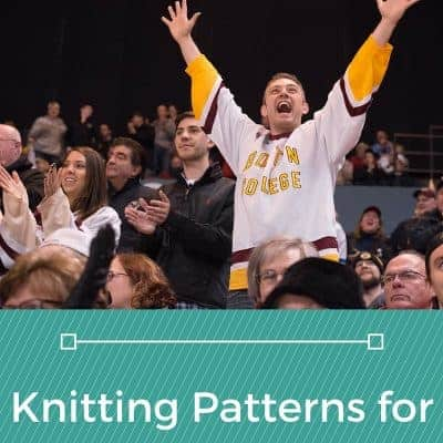 Free Knitting Patterns for Sports Fans