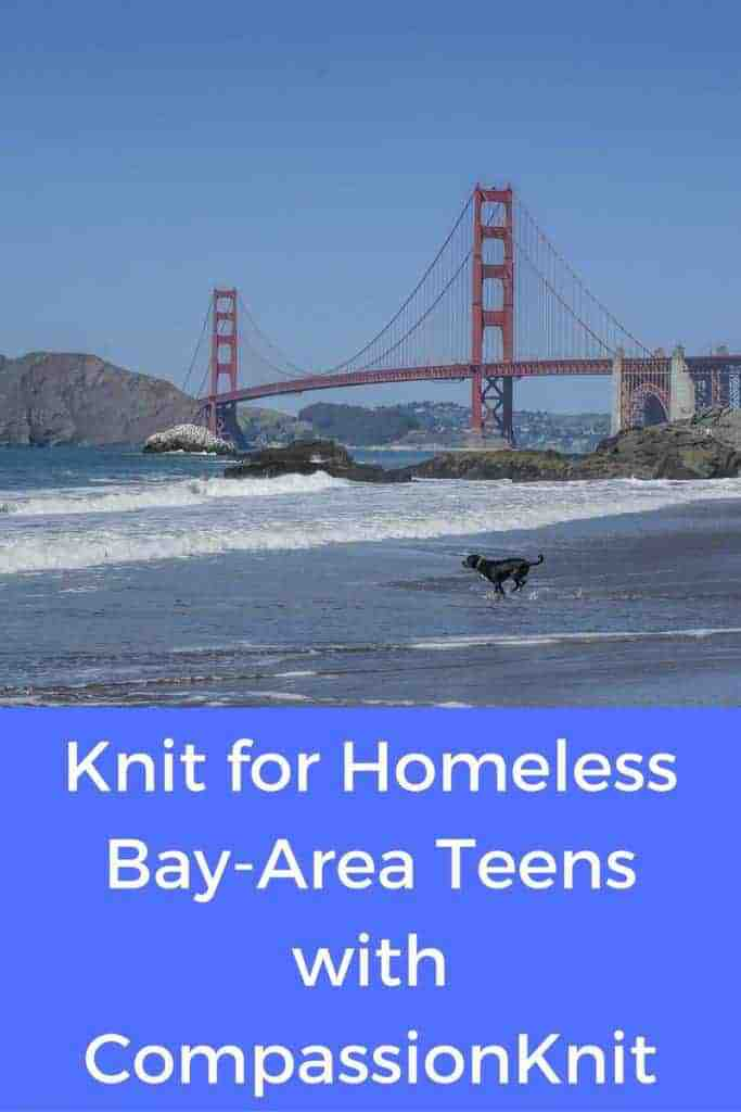 Help Homeless Bay-Area Teens with CompassionKnit