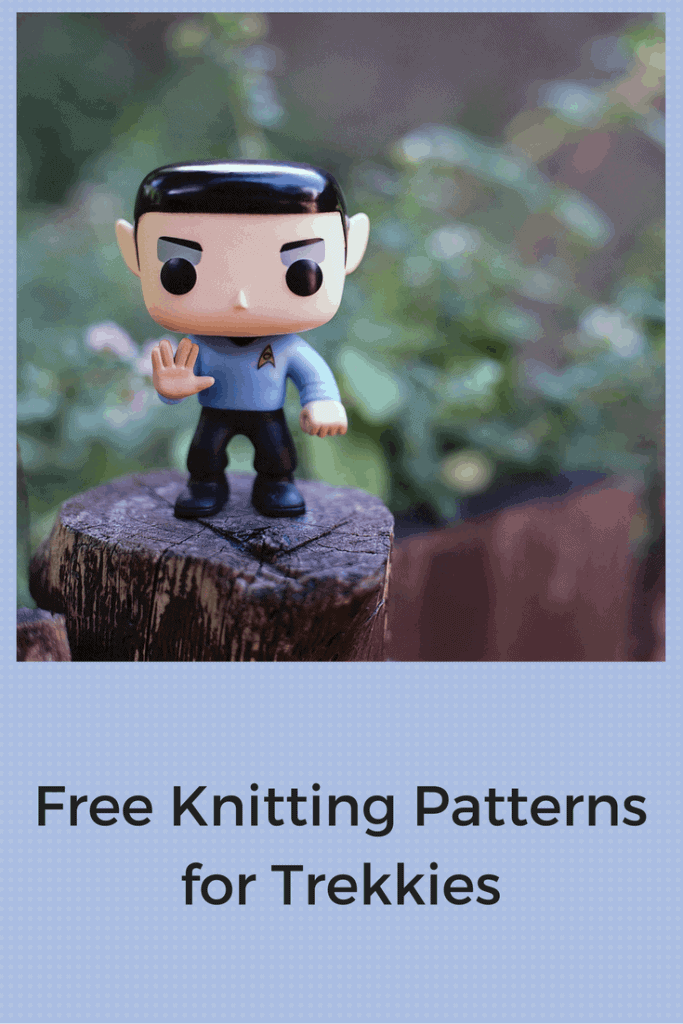Free Star Trek Knitting Patterns for Trekkies Young and Old