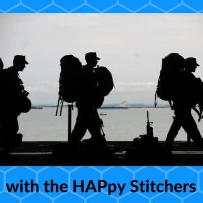 Charity Knitting for Troops through the HAPpy Stitchers Afghan Project