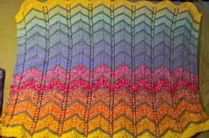 quick knitting patterns for blankets