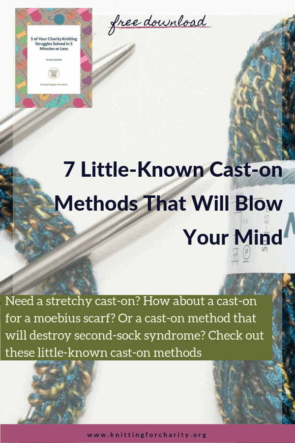 7 little-known cast-on methods