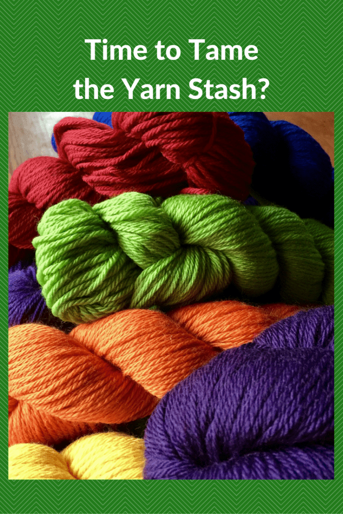 Is It Time for You to Tame Your Crazy Yarn Stash?