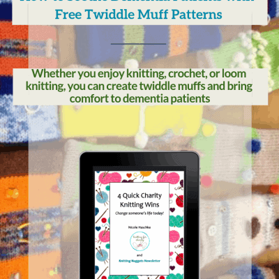 How to Soothe Dementia Patients with Free Twiddle Muff Patterns