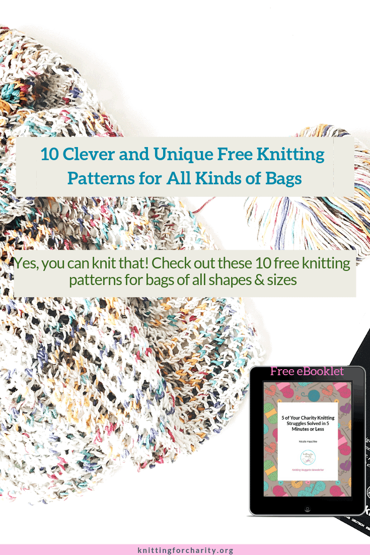 free knitting patterns for bags