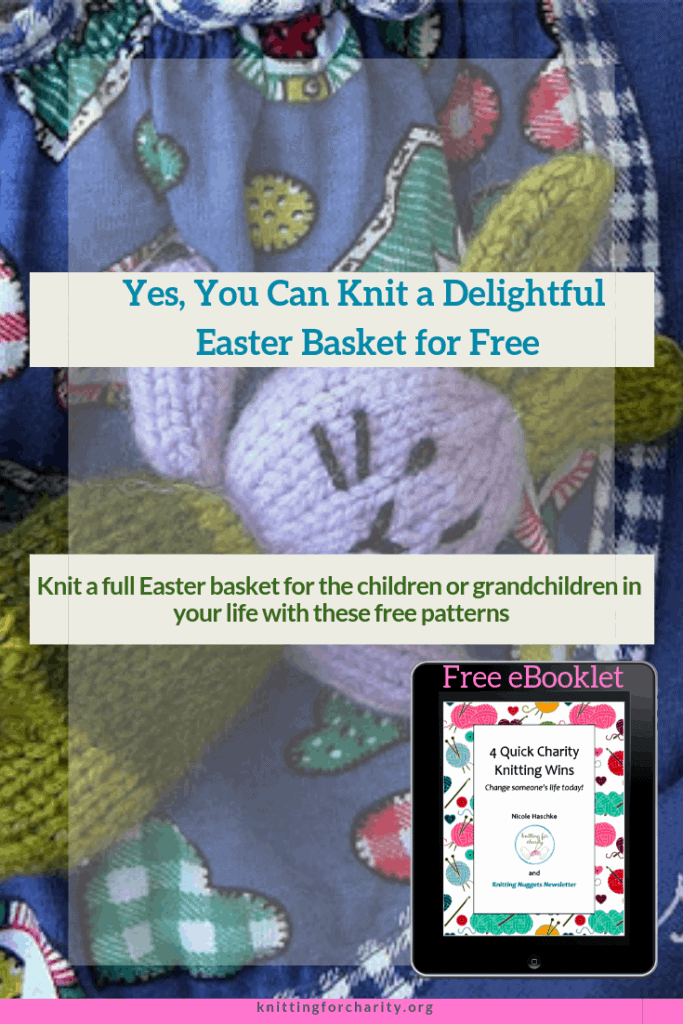 Yes, You Can Knit a Delightful Easter Basket for Free