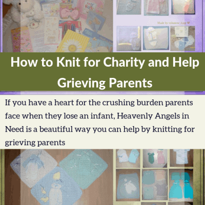 How to Knit for Charity and Help Grieving Parents