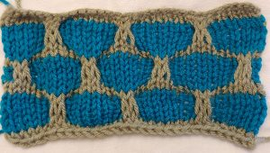 Honeycomb Mosaic Knitting Pattern