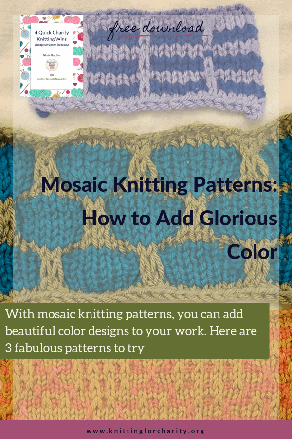 Mosaic Knitting Patterns: How to Add Glorious Color