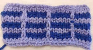 Simple Mosaic Knitting Pattern