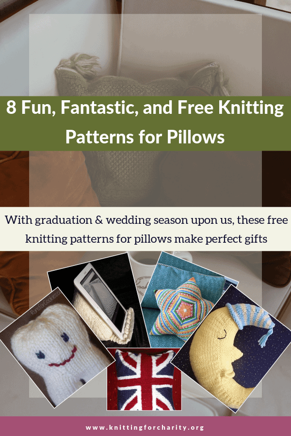 8 Fun, Fantastic, and Free Knitting Patterns for Pillows