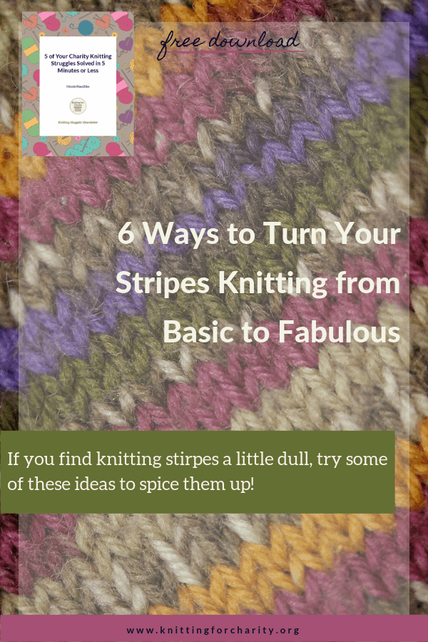 6 Ways to Turn Your Stripes Knitting from Basic to Fabulous