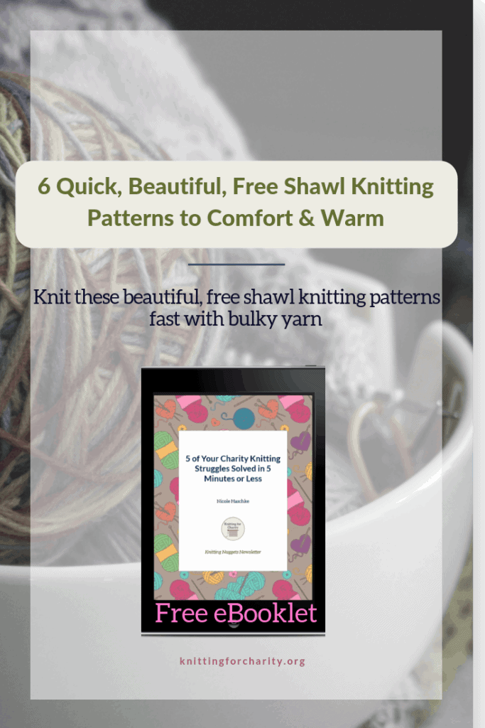 6 Quick, Beautiful, Free Shawl Knitting Patterns to Comfort & Warm