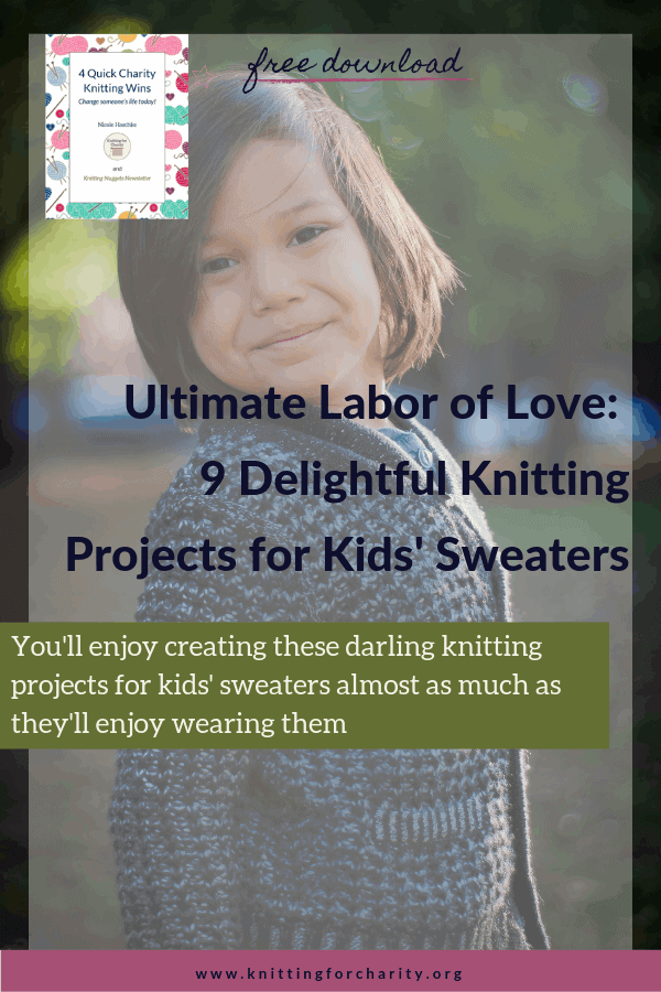 Ultimate Labor of Love: 9 Delightful Knitting Projects for Kids' Sweaters