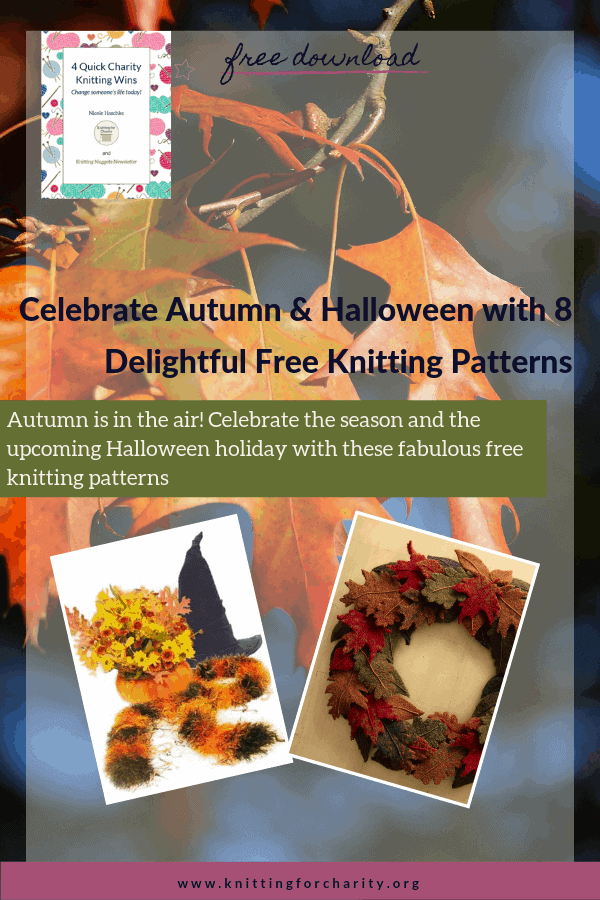 Celebrate Autumn & Halloween with 8 Delightful Free Knitting Patterns