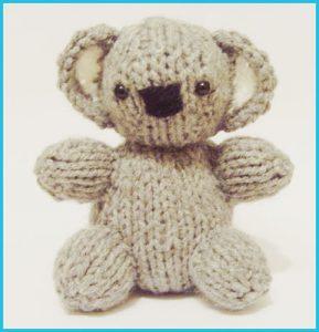 Koala Baby - Raynor Gellatly, Knitted Toy Box Designs
