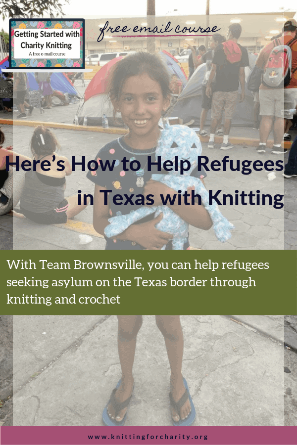 Here's How to Help Refugees in Texas with Knitting