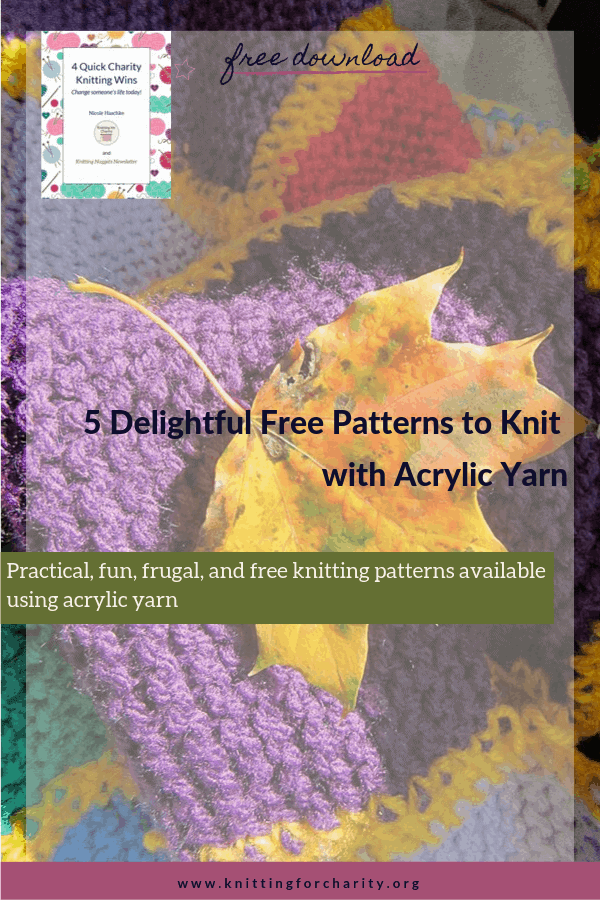 5 Delightful Free Patterns to Knit with Acrylic Yarn