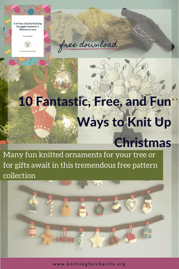 10 Fantastic, Free, and Fun Ways to Knit Up Christmas