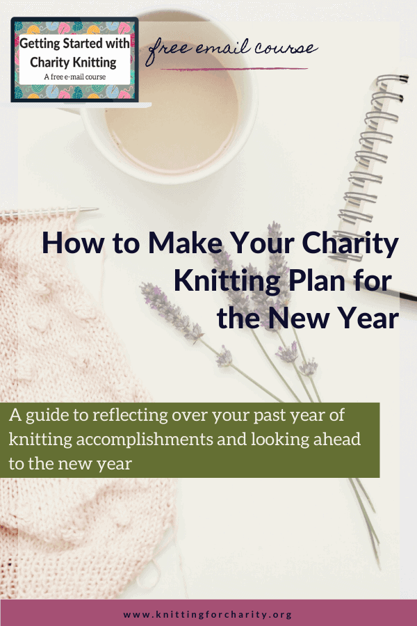 charity knitting in the new year