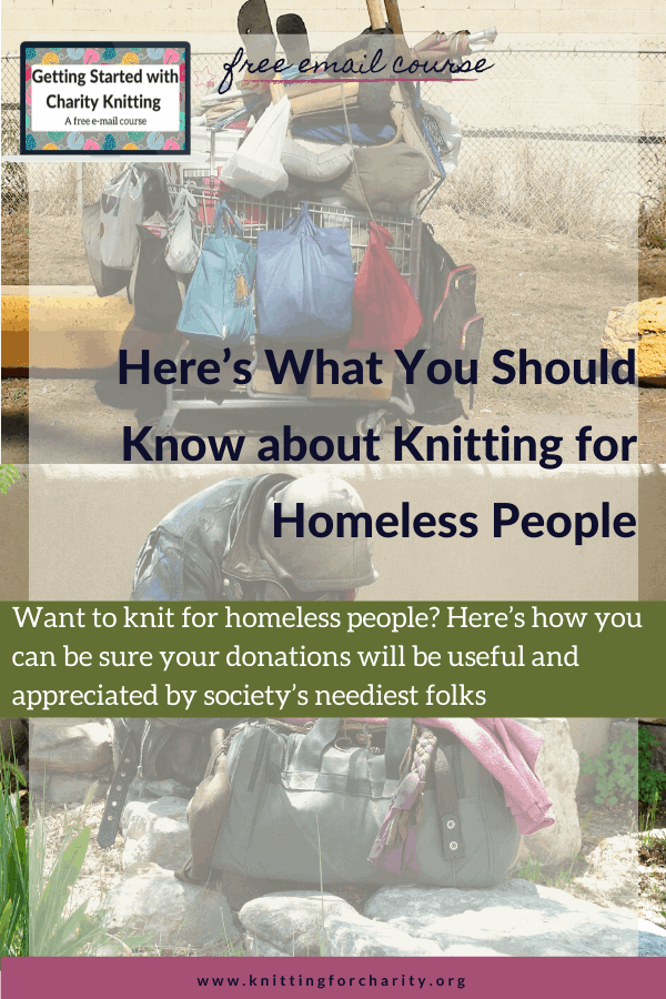 Here's What You Should Know about Knitting for Homeless People