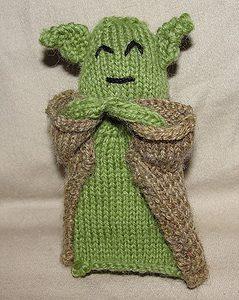 Yoda iPod Cozy pattern