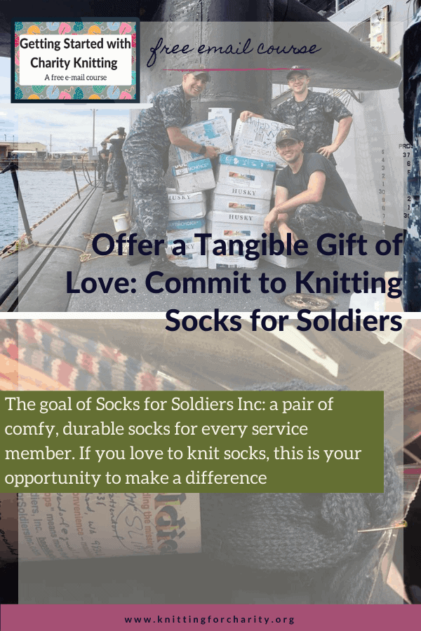 Offer a Tangible Gift of Love: Commit to Knitting Socks for Soldiers
