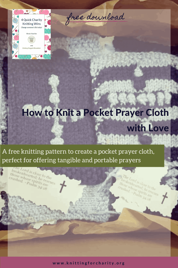 How to Knit a Pocket Prayer Cloth with Love