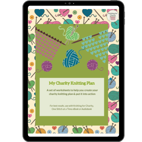 My Charity Knitting Plan Workbook