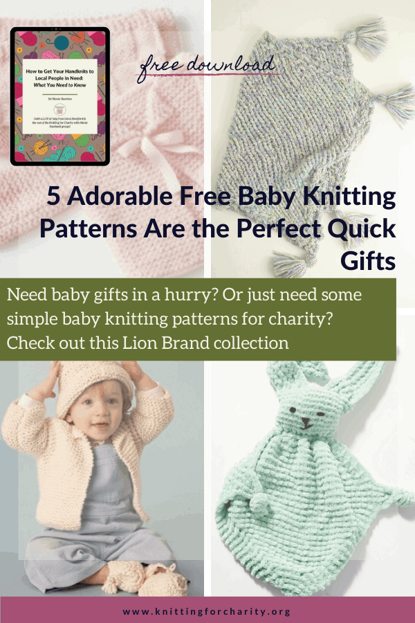 5 Adorable Free Baby Knitting Patterns for the Perfect Quick Gifts